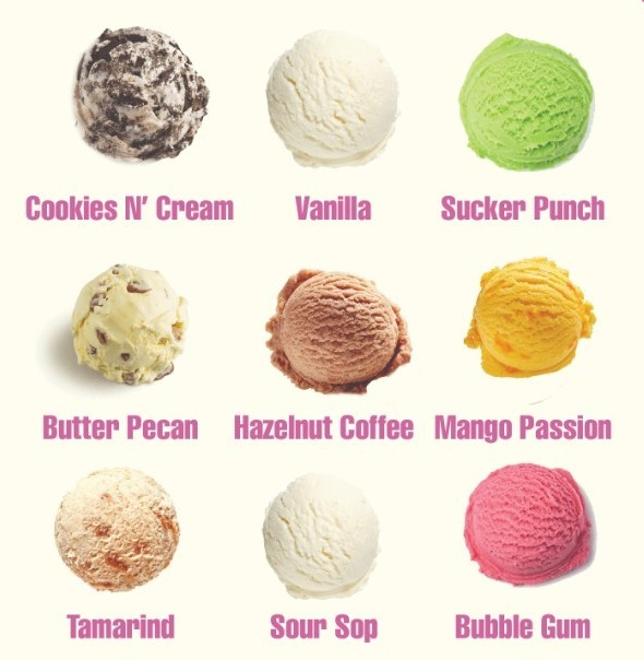 Unique Flavors Ice Cream