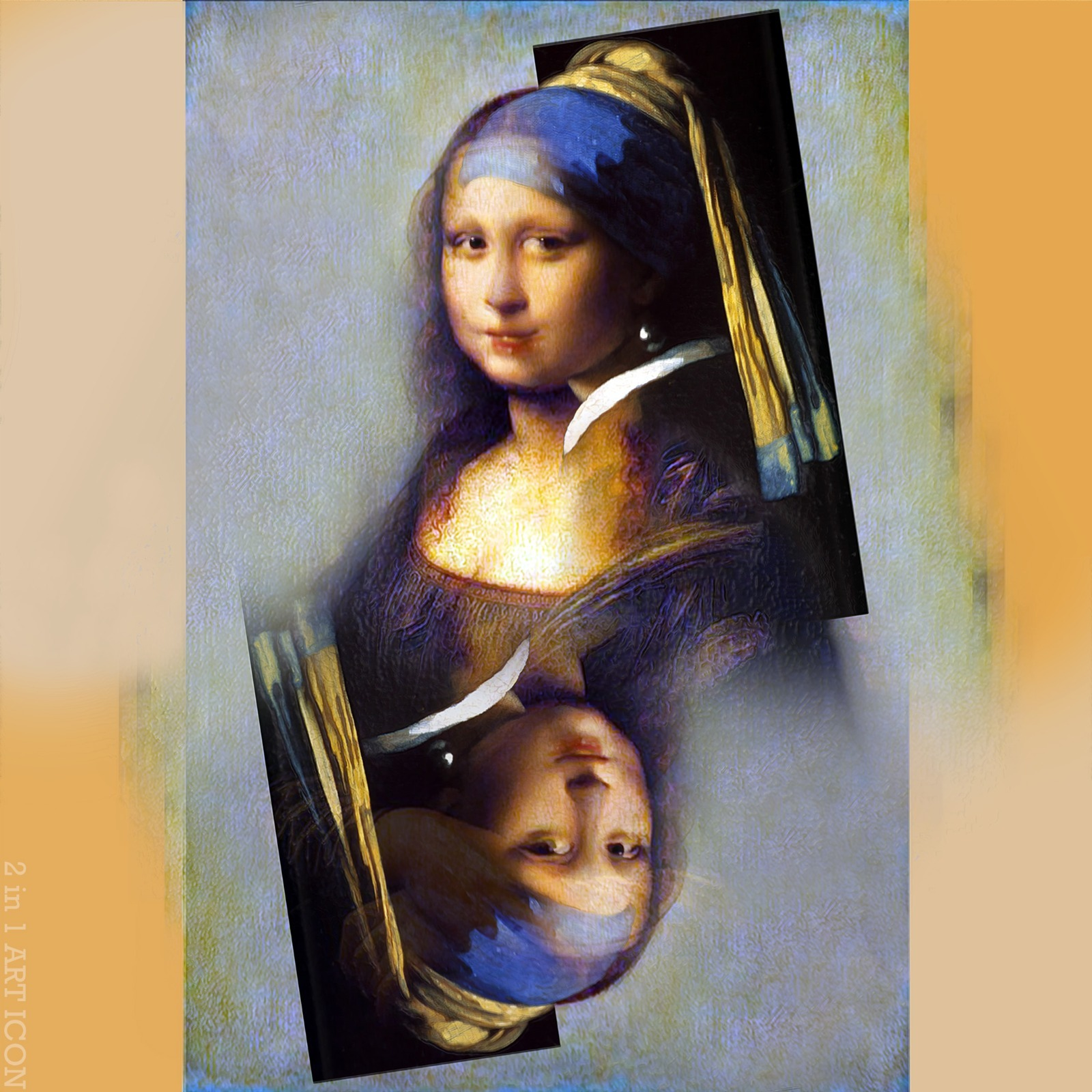 2 in 1 Art Icon by Gordon Coldwell