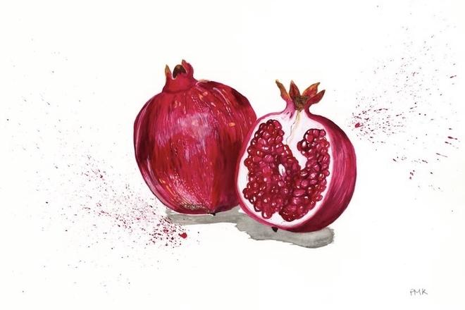 Selling: Pomegranates Giclée Print