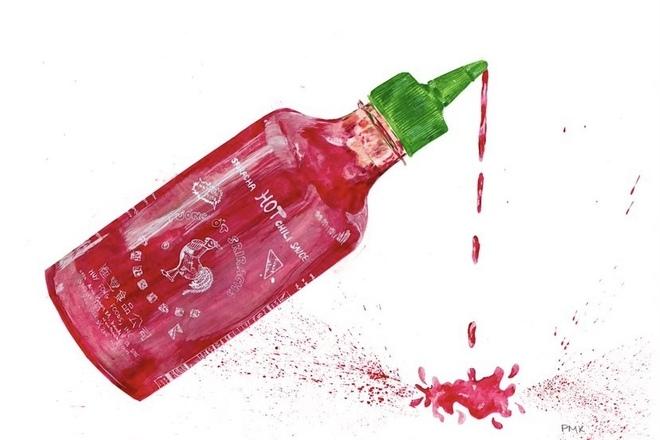 Selling: Sriracha Giclée Print