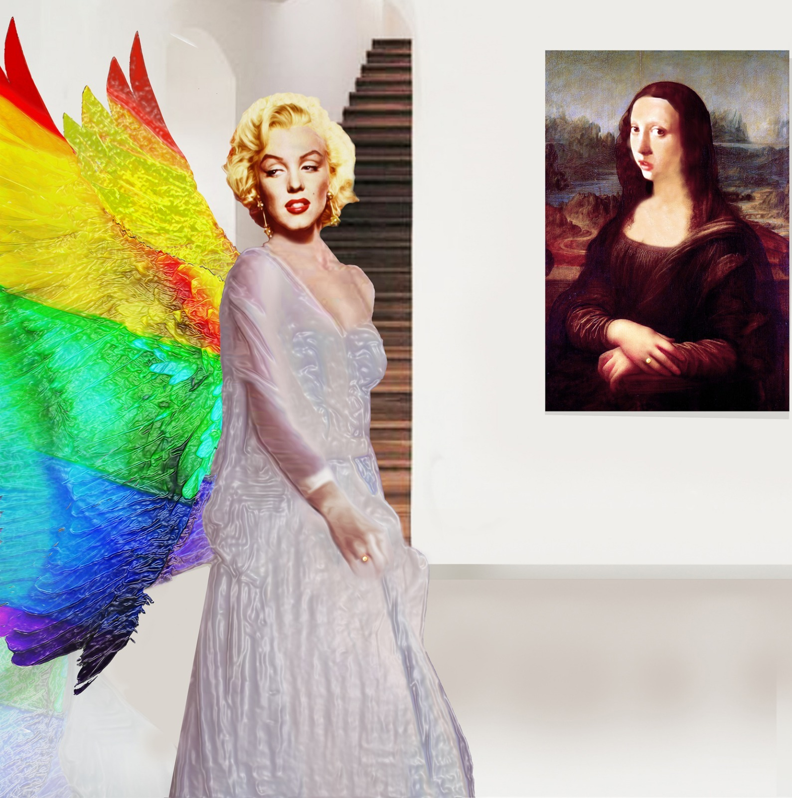 A-Muses in Art by Gordon Coldwell