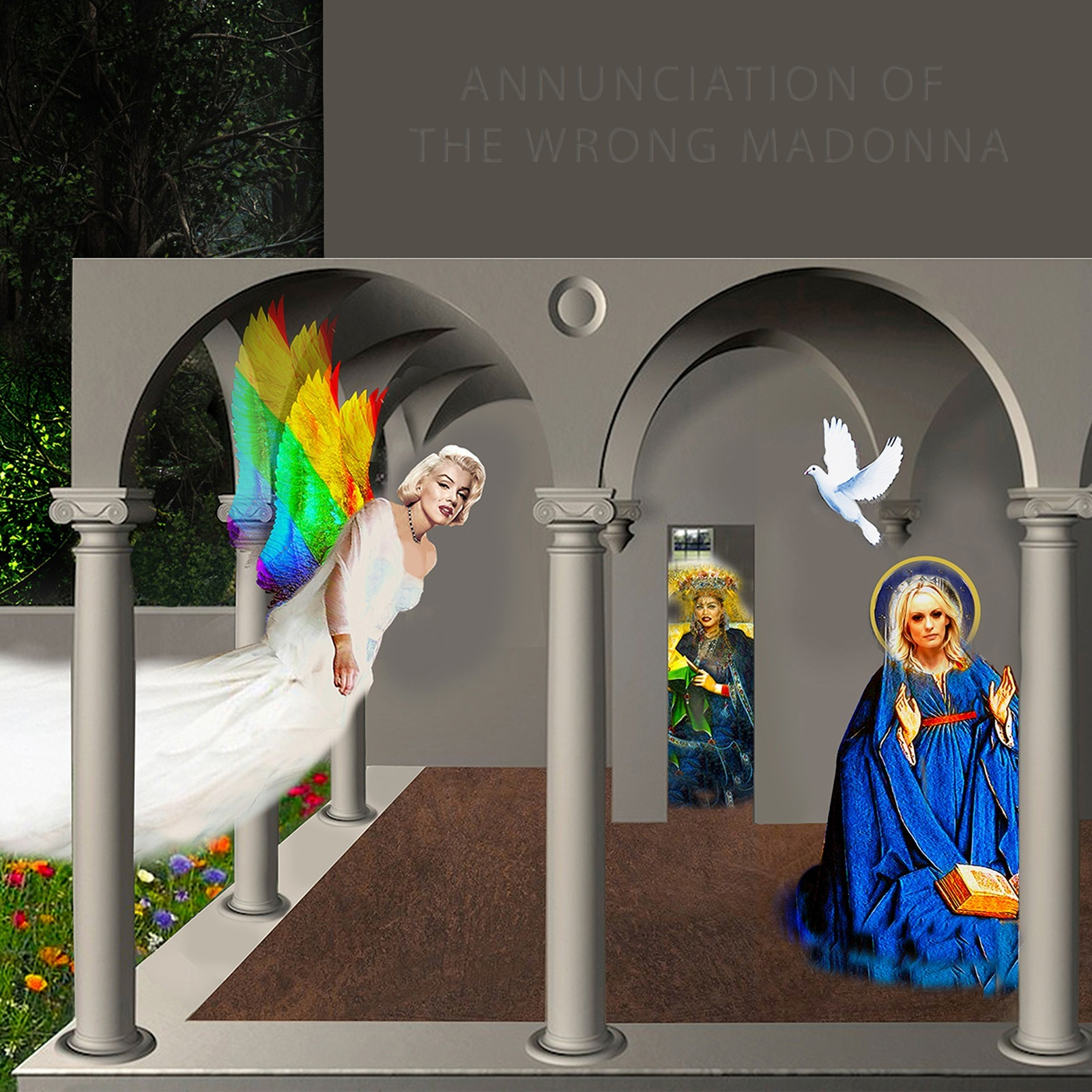 The Annunciation of the Wrong Madonna by Gordon Coldwell