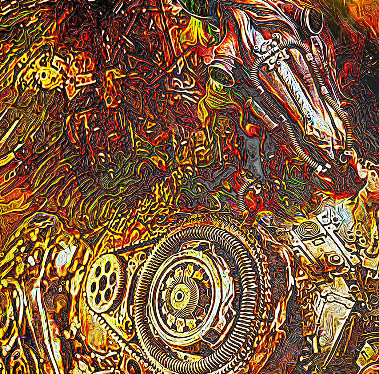 Golden Pegasus by Gordon Coldwell