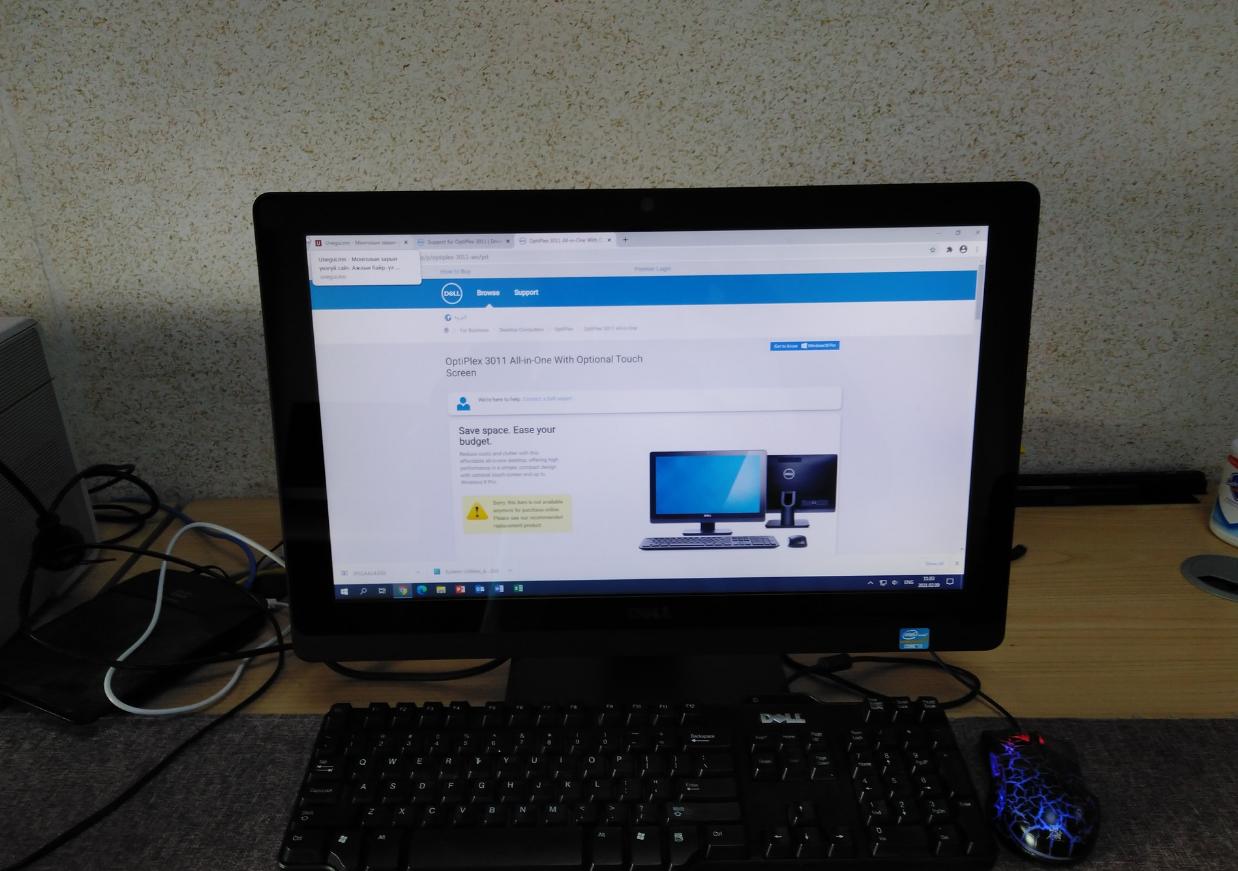 Dell optiplex 3011, all in one