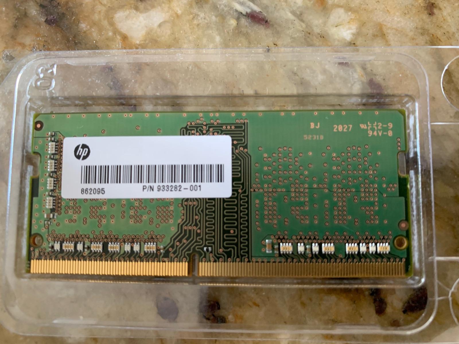 Samsung 4GB 1RX16 DDR4 Memory