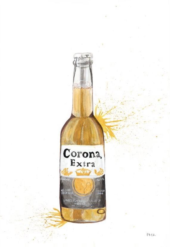 Corona A4 Giclée print