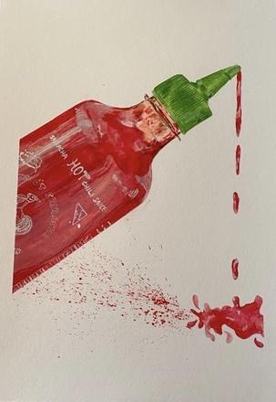 Selling: Sriracha A4 Giclée print