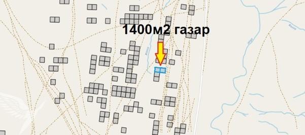 Төв аймаг сэргэлэн сумын 8-р хэсэгт 1400мкв газар зарна