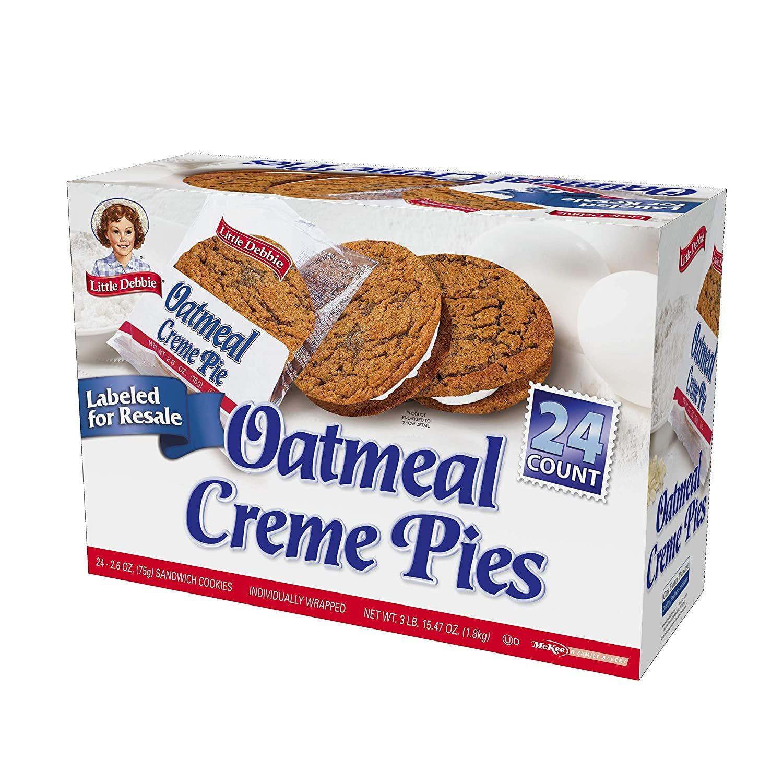 Little Debbie Oatmeal Pies (24)