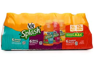 V8 Splash Variety Pack Juice (Pack of 18)