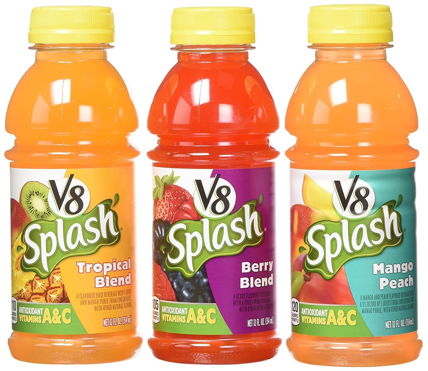V8 Splash Variety Pack Juice (Pack of 18)