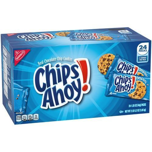 Chips Ahoy! (24 snack packs)