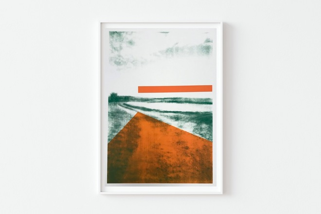 Selling: The Gallops: Orange Vanishing Point