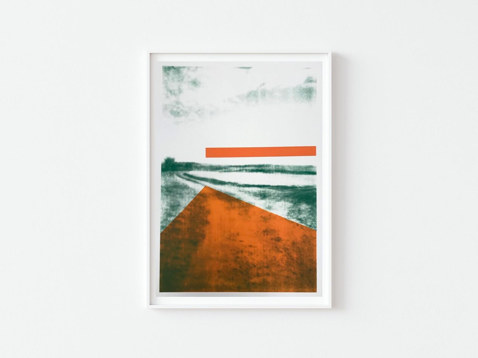 The Gallops: Orange Vanishing Point