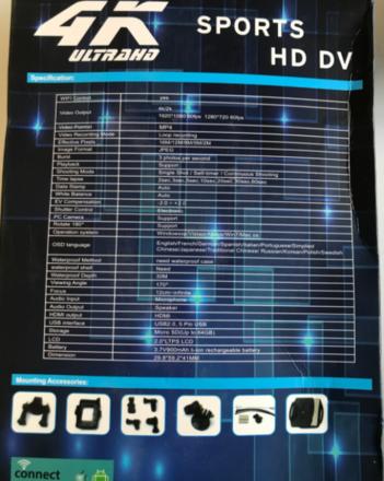 ХУДАЛДАХ: Ultra hd sport camera зарна. Үнэ: 170,000₮ Утас: 88045777