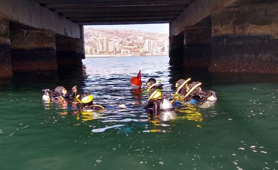 PADI Dive Master en Valparaíso
