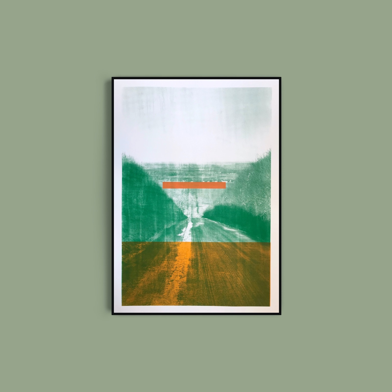Britwell Hill: Green with Orange Spacer