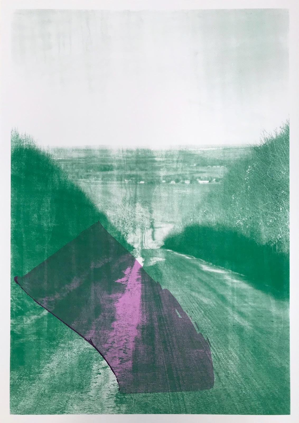 Purple Zone on Green Britwell Hill #2