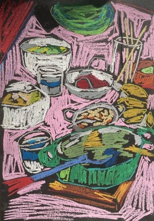 Selling: curry still life