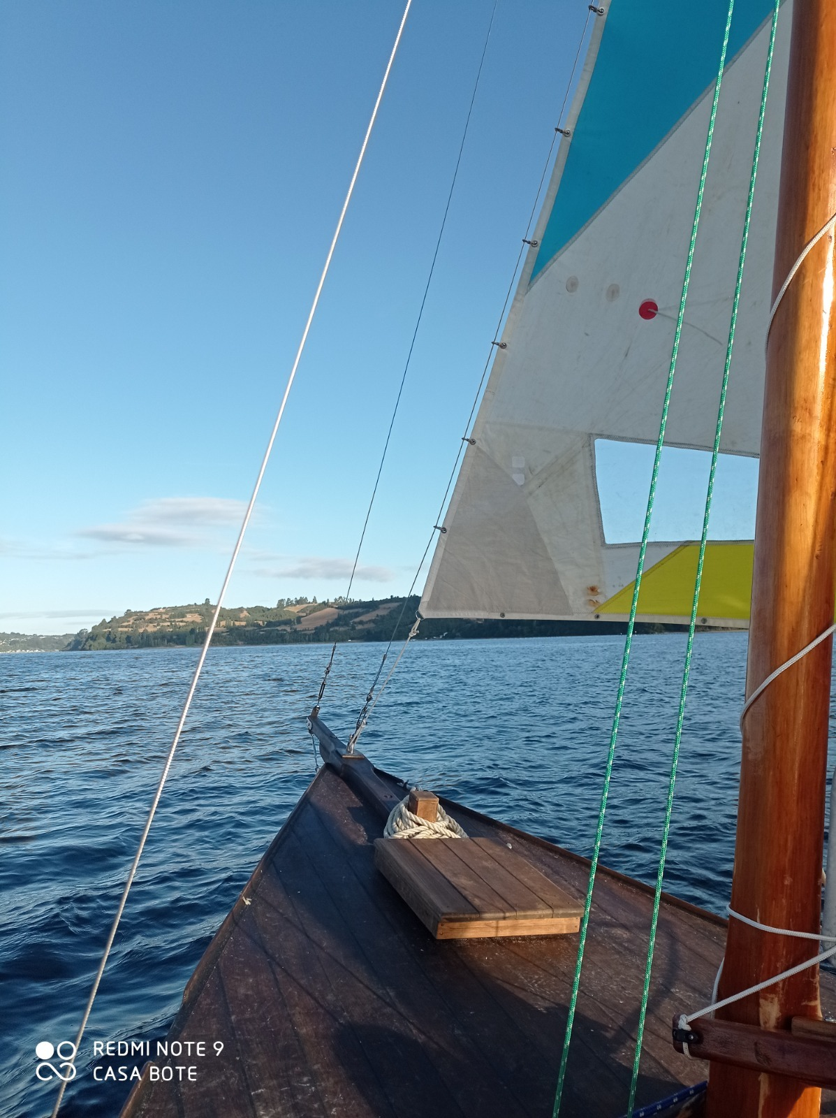 Paseo en velero Chilote