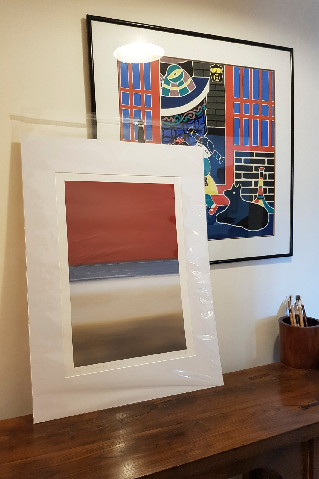 Margate Sunset - Below The Waterline A2 Mounted - Artist's Proof