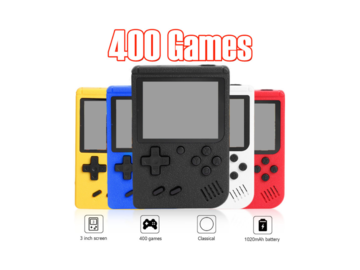 Handheld Video Game Console for Kids