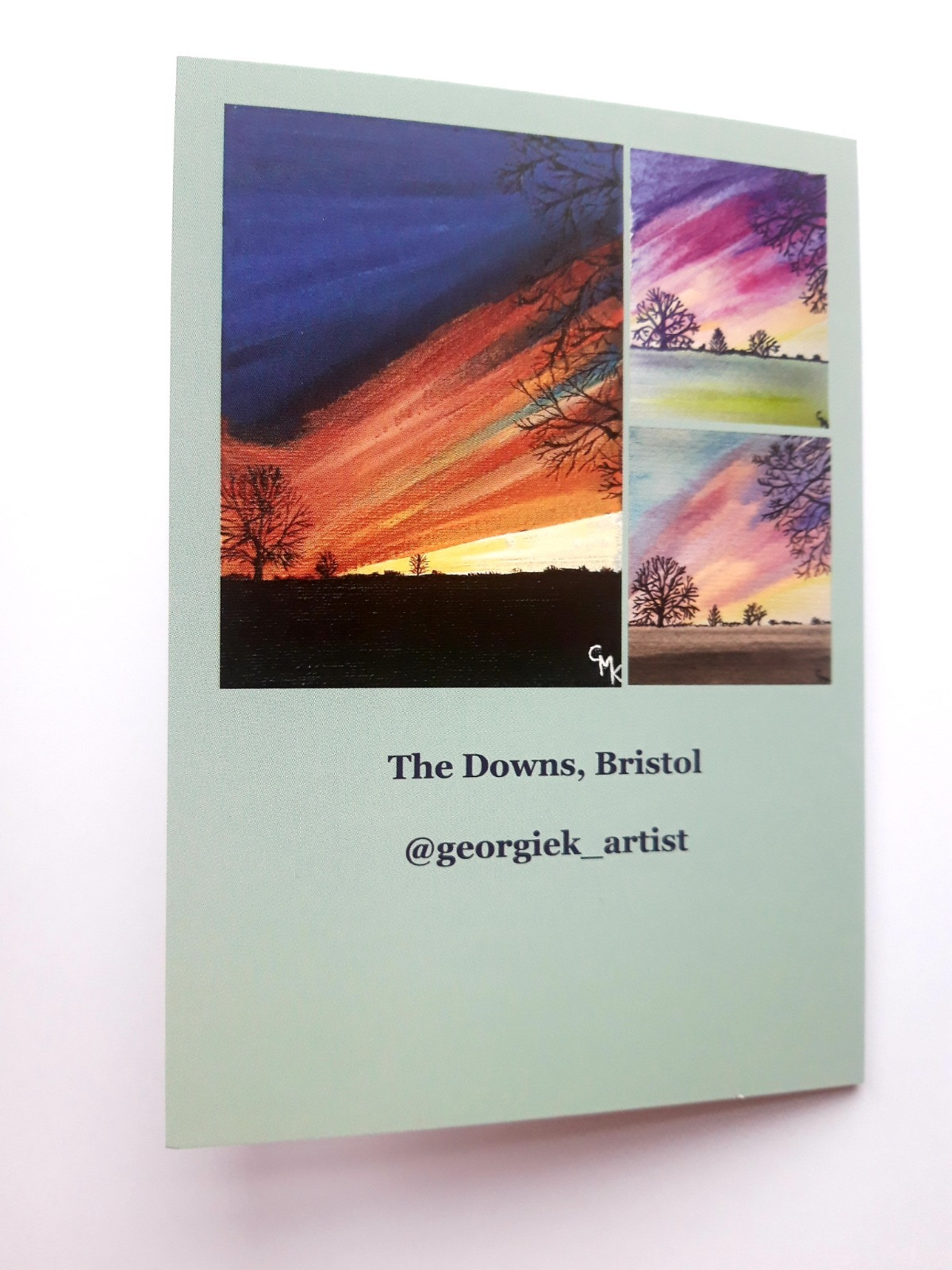 The Downs Sunset, Bristol | Pack of 5 Greeting Cards