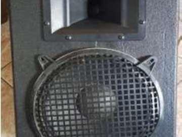 """Rent: 10"""" - 300 watt passive speaker"""