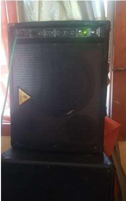 """12"""" Powered Speaker - 350 watts (set of 2)"""