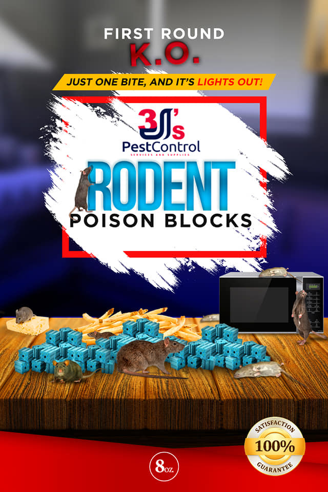 Rodent Poison Blocks