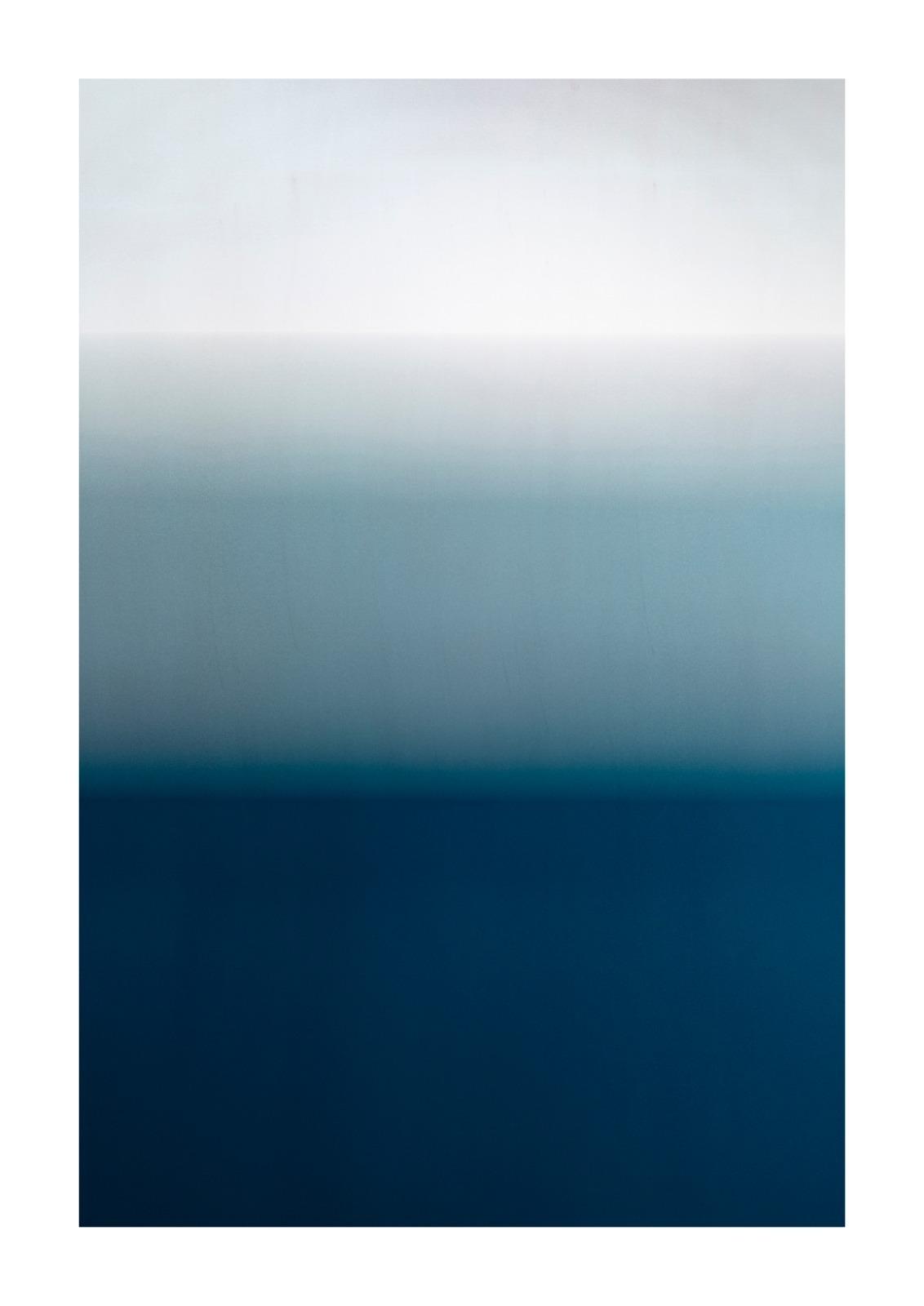 Blue No.2 - Below The Waterline A4 GicléePrint