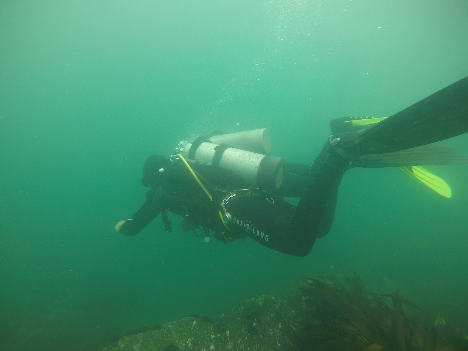 Advanced Open Water Diver en Quintay