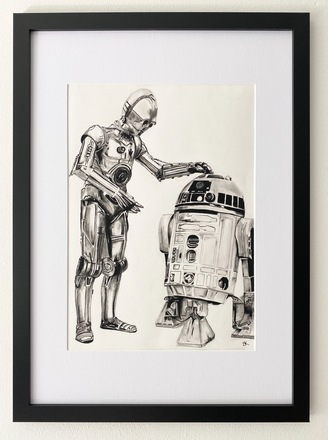 Selling: R2D2 and C3PO