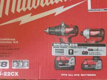 M18 Hammer Drill & Impact Combo Kit