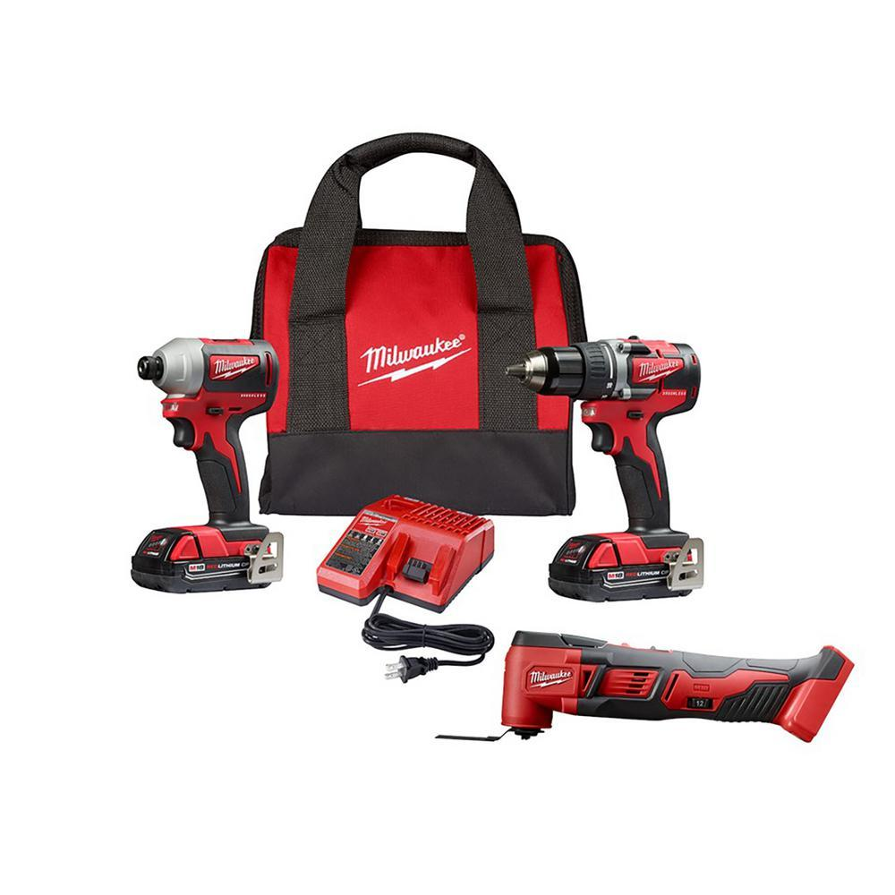 M18 2Pc Combo Kit With Multi Tool