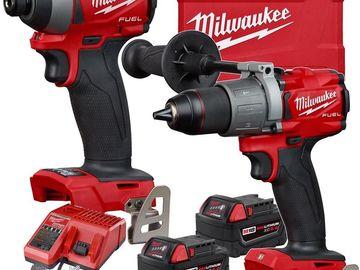 Hammer Drill & Impact Driver Combo Kit
