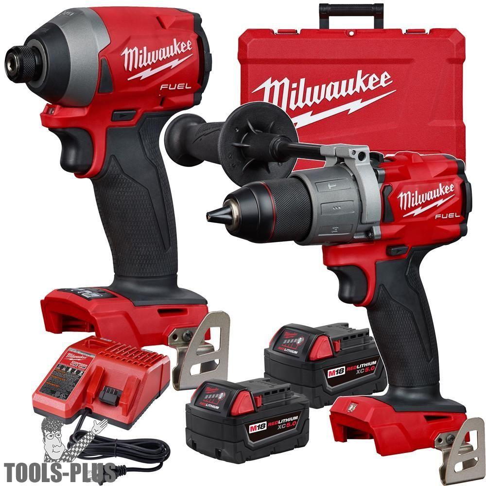 Hammer Drill & Impact Driver Combo Kit