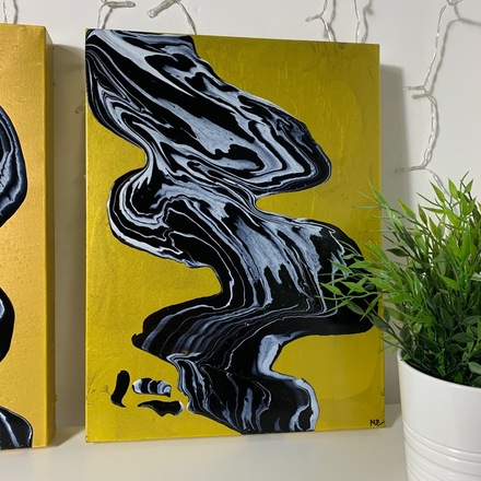 Selling: ORIGINAL ABSTRACT PAINTING