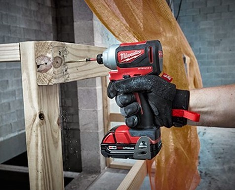 Milwaukee 2850-20 M18 1/4″ Hex Impact Driver