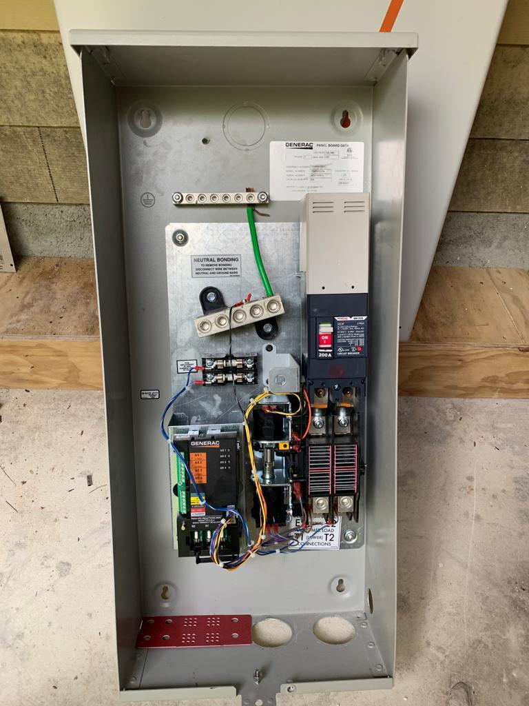Generac 200 Amp Smart Transfer Switch
