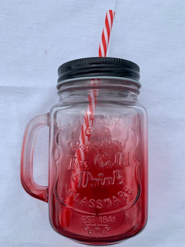 16oz Mason Jar Mugs