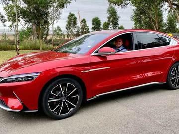 Sell: 2022 BYD Han EV Luxury Sedan