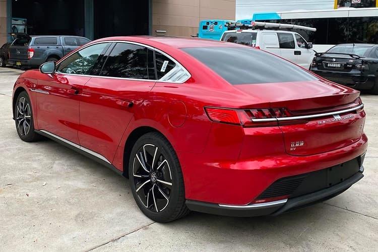 2022 BYD Han EV Luxury Sedan