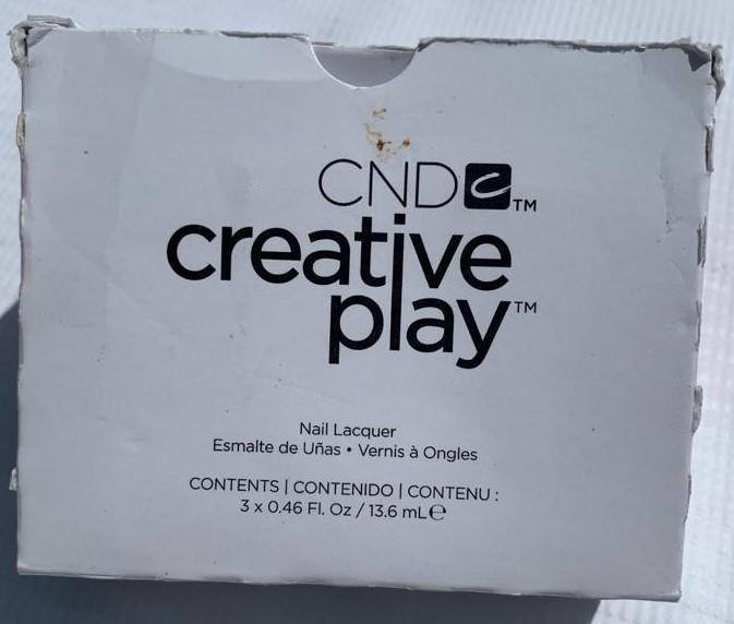 CND Creative Play Top Coat (3 pack)