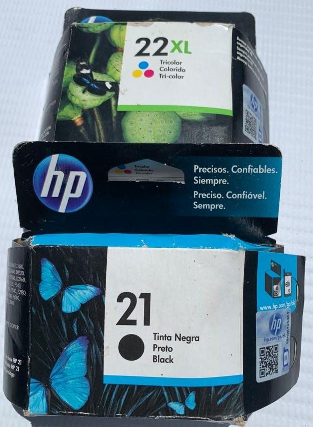 HP 21 / 22XL Black/Tricolor Ink Cartridges