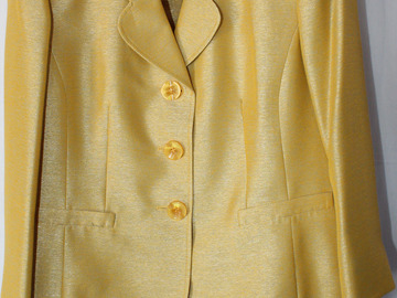 Sell: Gold Kasper Suit (size 14)