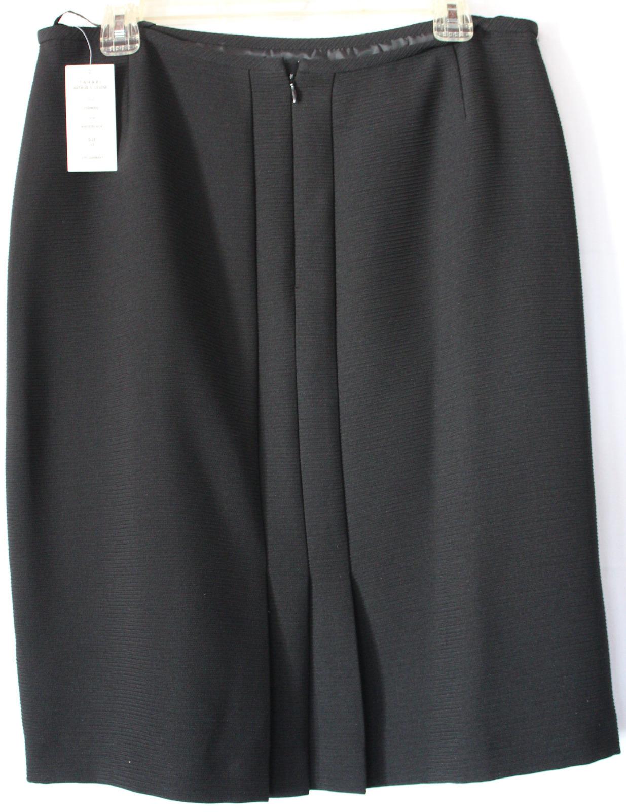 Black/White Tahari Suit (size 12)