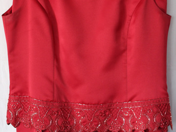 Sell: Ruby Red Kasper Tux (size 12)