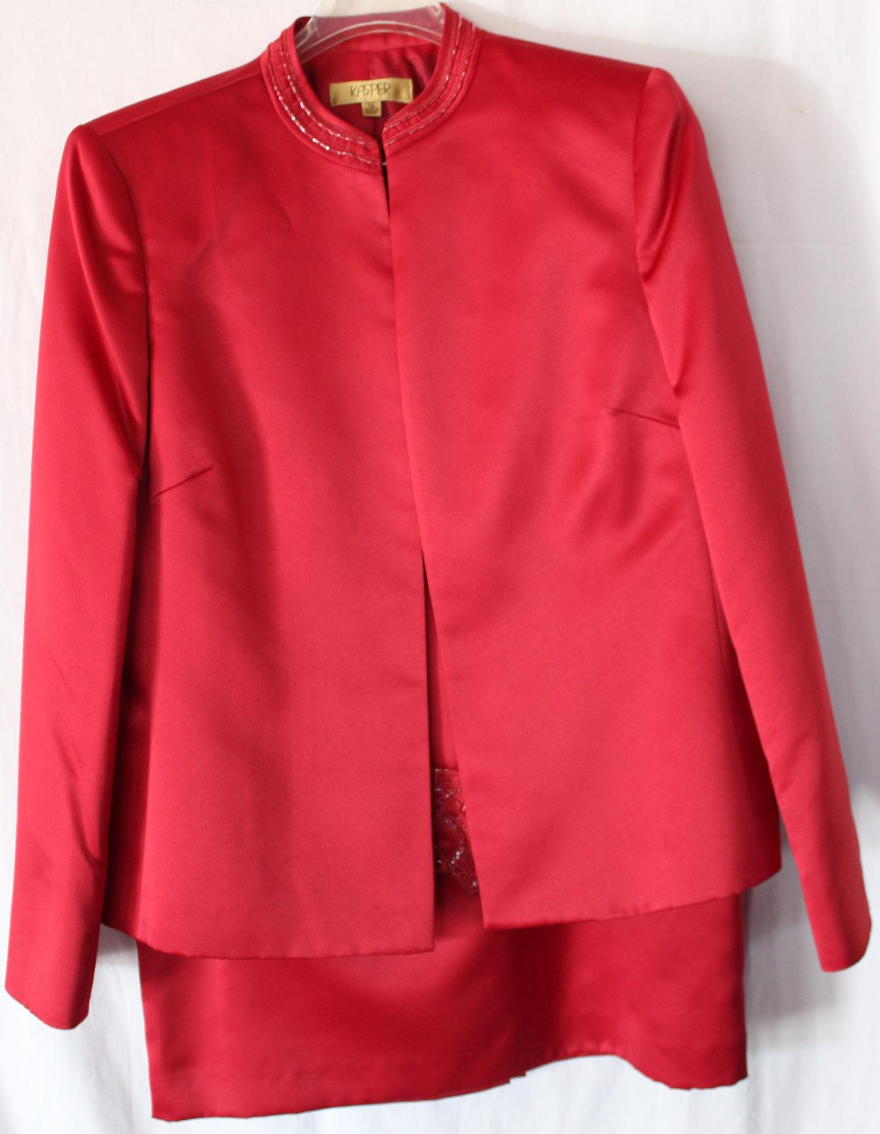 Ruby Red Kasper Tux (size 12)