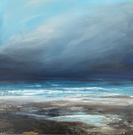 Selling: Stormy seascape